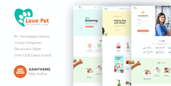 test LovePet - Pet Shop & Veterinary Theme