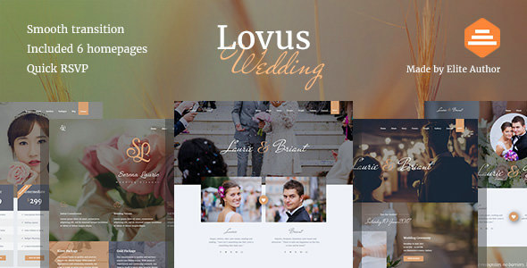 test Lovus - Wedding Planner WordPress Theme