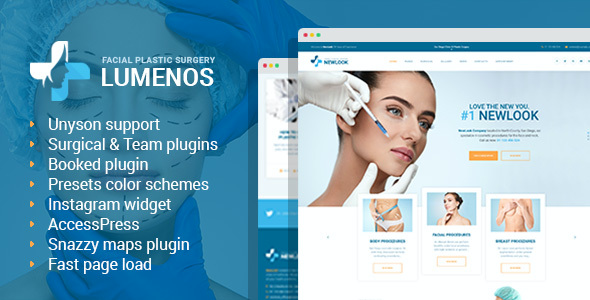 test Lumenos - Plastic Surgery Clinic WordPress Theme