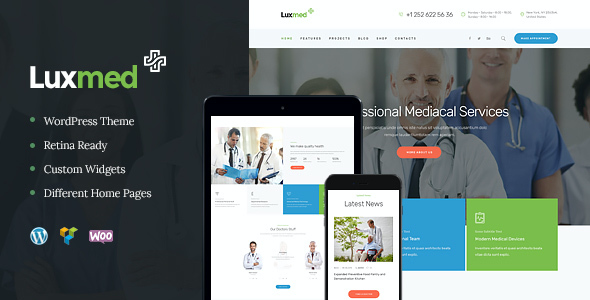 test LuxMed | Medicine & Healthcare WP Theme
