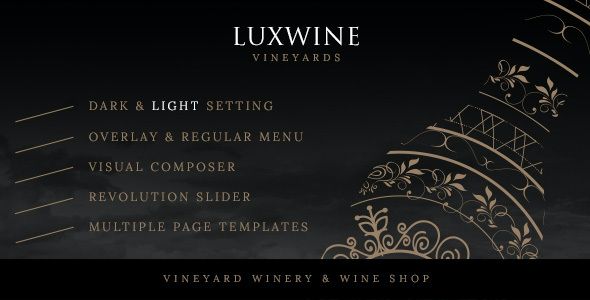 test Luxwine - Wine WordPress Theme