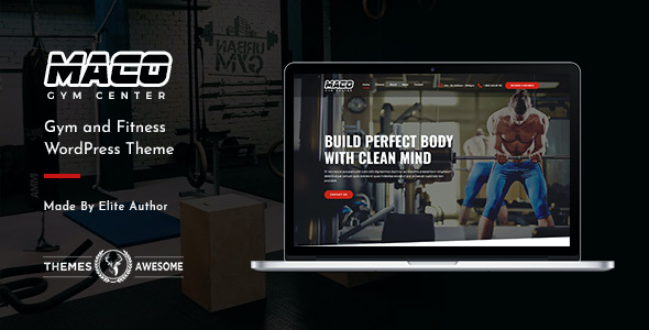 test Maco | Gym and Fitness WordPress Theme