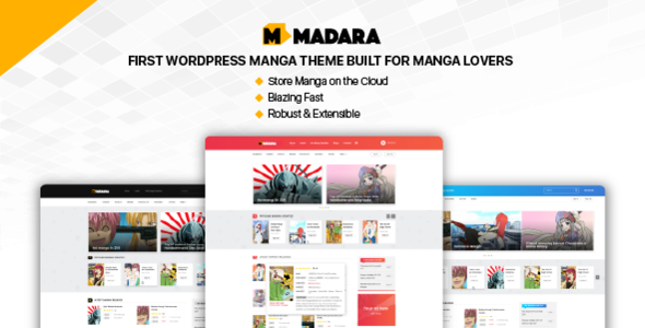 Test du thème WordPress Madara , découvrez notre avis