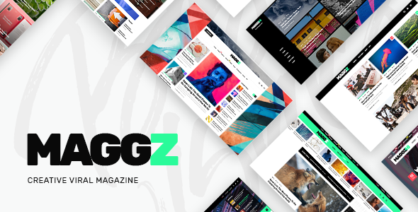 test Maggz - A Creative Viral Magazine and Blog Theme