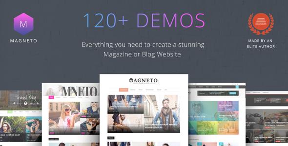 Test du thème WordPress Magneto , voici notre avis