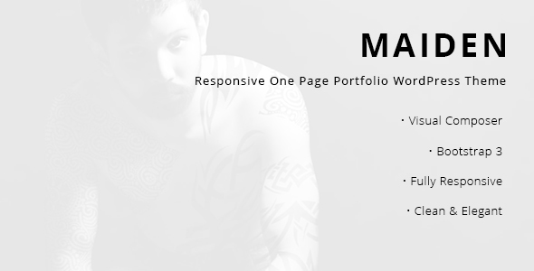 test Maiden - Responsive One Page Portfolio WordPress Theme