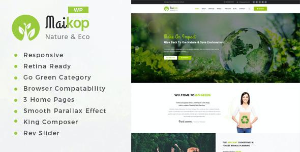 Test du thème WordPress Maikop , découvrez notre avis