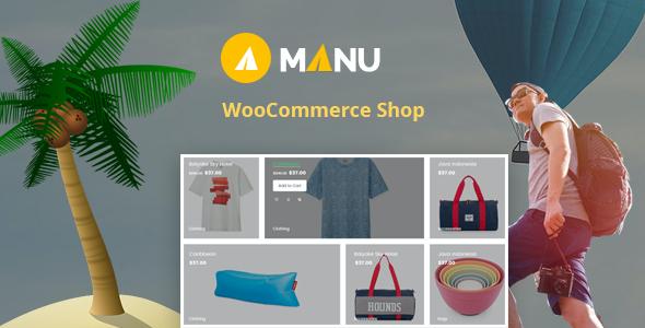Test du thème WordPress Manu , voici notre avis