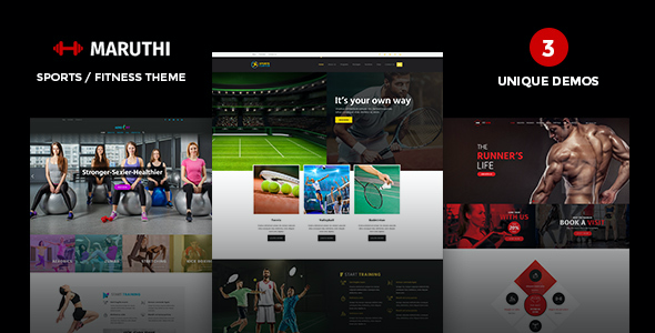 test Maruthi Fitness - Fitness Center WordPress Theme