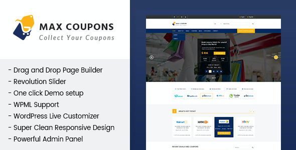 test Max Coupons - Couponry & Deals WordPress Theme