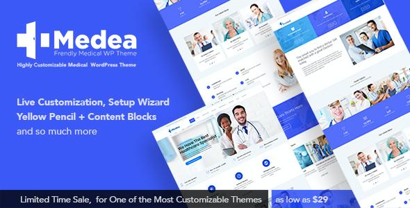 Test du thème WordPress Medea , voici notre avis