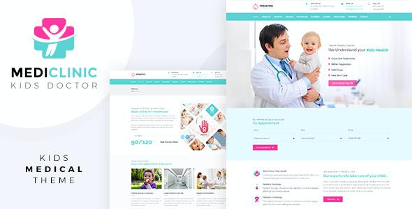 Test du thème WordPress Medi Clinic , découvrez notre avis