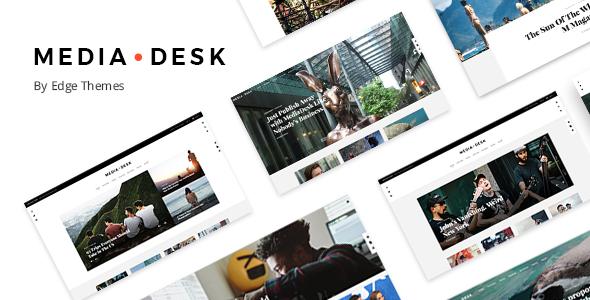 Test du thème WordPress MediaDesk , découvrez notre avis