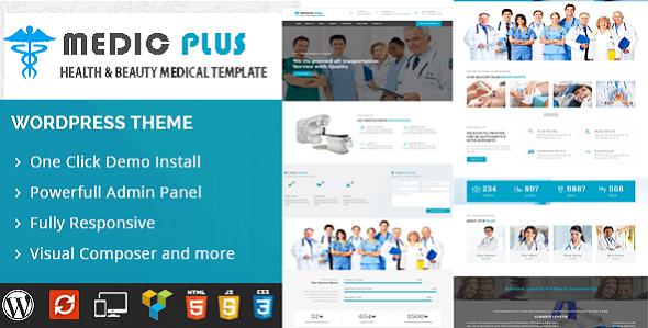 Test du thème WordPress MedicPlus , découvrez notre avis