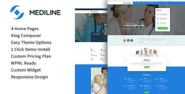 test Mediline - Medical & Health WordPress Theme