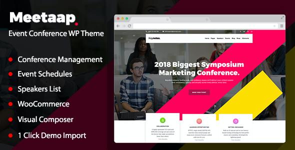 Test du thème WordPress Meetaap , découvrez notre avis