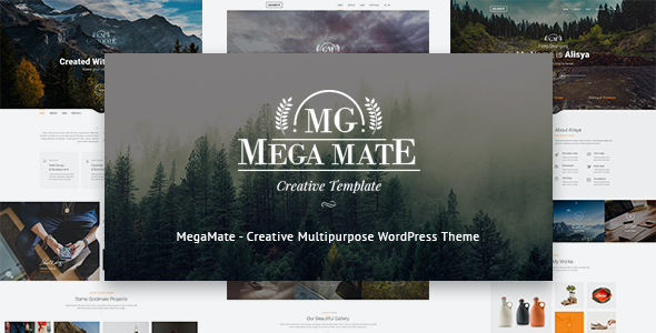 test MegaMate - Creative Multipurpose WordPress Theme