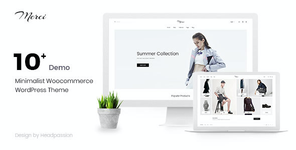 test Merci - Minimalist Woocommerce WordPress Theme