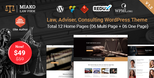 test Miako - Lawyer & Law Firm WordPress Theme