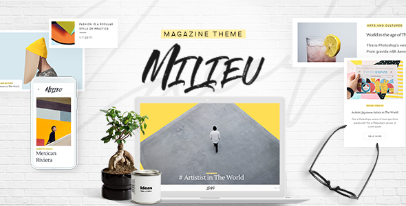 test Milieu - Art, Style and Culture Magazine