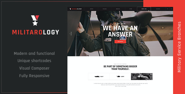 test Militarology | Military Service WordPress Theme