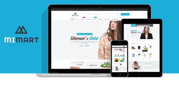 Test du thème WordPress Mimart , voici notre avis