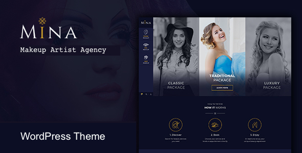 test Mina - Salon & Makeup WordPress theme