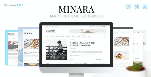 Test du thème WordPress Minara , découvrez notre avis