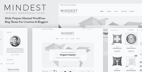 Test du thème WordPress Mindest , découvrez notre avis