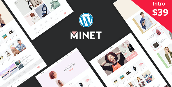 test Minet - Minimalist eCommerce WordPress Theme