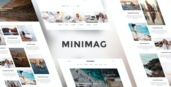 Test du thème WordPress MiniMag , découvrez notre avis