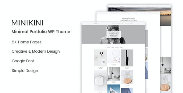 Test du thème WordPress Minikini , voici notre avis