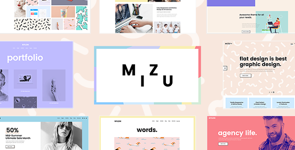 test Mizu - A Theme for Designers, Agencies, and Creative Studios