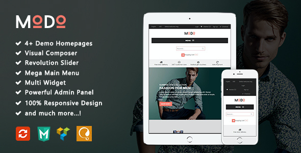 test Modo - Fashion Responsive WooCommerce WordPress Theme