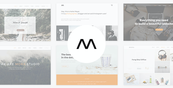 test Mora - Creative Portfolio & Photography Theme
