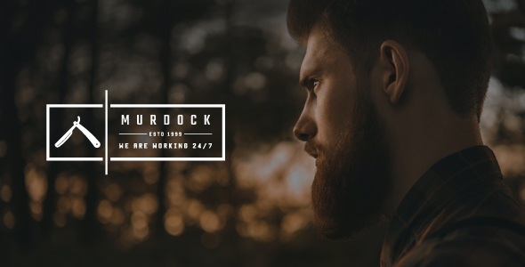test Murdock - Barbershop & Hair Salon WordPress Theme