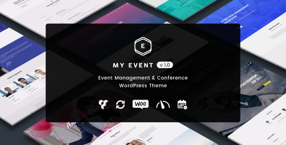 test My Event - Event & Conference WordPress Theme