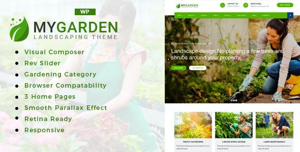 Test du thème WordPress My Garden , voici notre avis