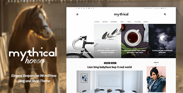 test Mythical Horse - Elegant Responsive WordPress Blog and Shop Theme