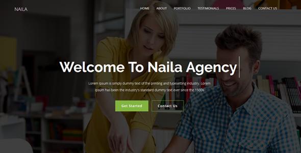 Test du thème WordPress Naila , découvrez notre avis