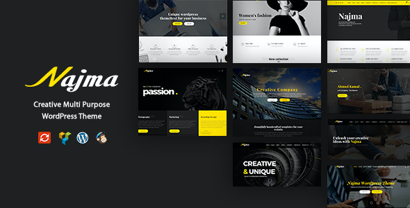 test Najma - Creative Multi-Purpose WordPress Theme