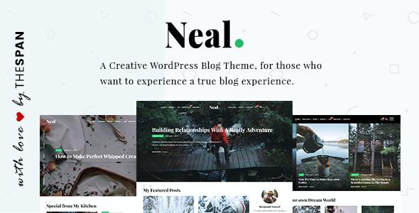 Test du thème WordPress Neal , découvrez notre avis