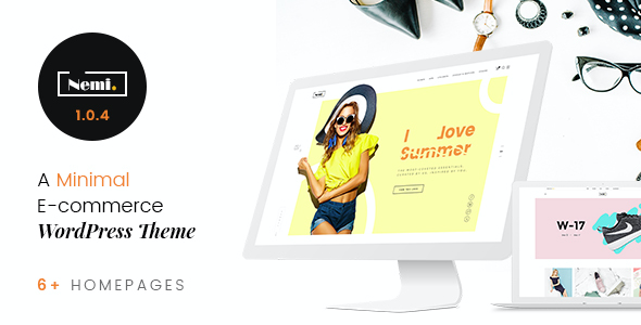 test Nemi - Multi Store Responsive WordPress Theme