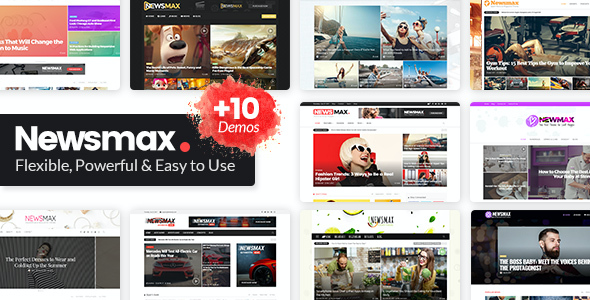 test Newsmax - Multi-Purpose News & Magazine Theme