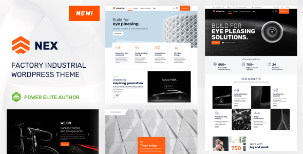 test Nex - Factory & Industrial WordPress