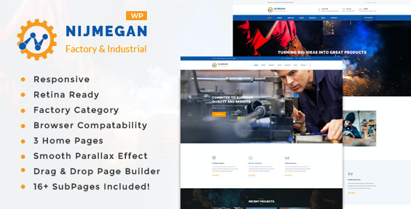 test Nijmegan - Factory and Industrial Business WordPress Theme