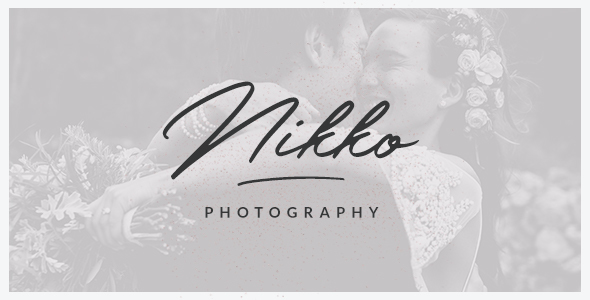 test Nikko - WordPress Photography Theme