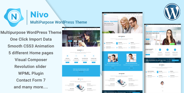 test Nivo - Responsive Creative MultiPurpose WordPress Theme