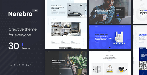 test Norebro - Creative Multipurpose WordPress Theme