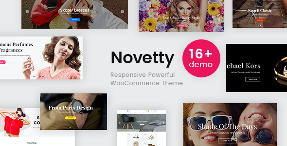 Test du thème WordPress Novetty , voici notre avis
